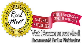 Made from Real Meat. Natural, Pure & Nutritious. Vet Recommended.